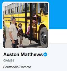 School Bus Meme - auston matthews hops aboard mitch marner meme sportsnet ca