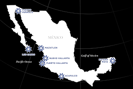 Huatulco Mexico Map by Vida Vacations Official Website For Vida Vacations Luxury