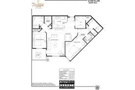 Den Floor Plan 2 Bedroom Scottsdale Condos Athena Toscana Of Desert Ridge