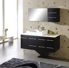 bathroom cabinets ne black floating modern bathroom vanity with