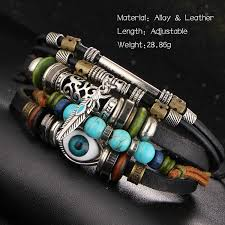 bracelets for 17km design turkish evil eye bracelets for women men
