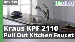 review kraus kpf 2110 kitchen faucet youtube
