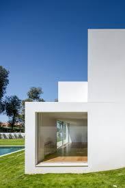 modern stacked rectangular volume house design architecture home