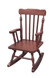 Unfinished Child S Rocking Chair Amazon Com Gift Mark Child U0027s Colonial Rocking Chair Cherry