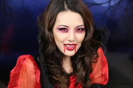 Vampire Looks For Halloween Tutorial Vampire Makeup Halloween 2013 From Head To Toe