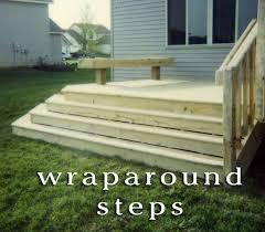 Wrap Around Deck Designs Deck Stairs Build A Wrap Around Deck Wrap Around Deck Design