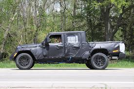 jeep truck 2019 jeep wrangler truck spotted in michigan