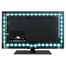 led strip lights for tv amazon com bason usb led tv bias lighting for 60 to 70 inches
