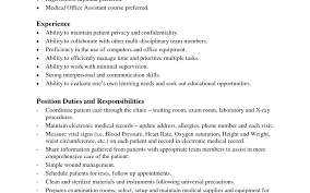 Medical Office Assistant Job Description For Resume Beautiful Assistant Project Manager Resume Example Resume Blank