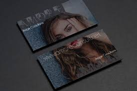 Business Cards Next Day Delivery Black Business Cards With Edge Painting 4over4 Com