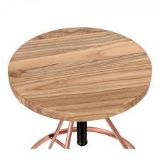 si e pivotant siège de barre pivotant en métal bois d orme massif cuivre