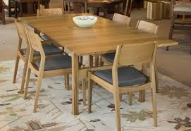 White And Oak Dining Table Dining Set In Quarter White Oak The Joinery Portland Oregon