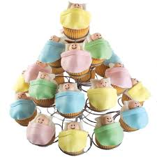 high rise baby shower cupcakes wilton