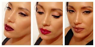 christmas party look 3 lip options youtube