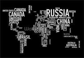 word cloud world map wallpaper wall mural wallsauce usa save your design for later