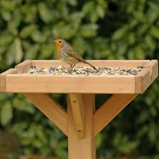 Bird Table L Open Bird Feeding Table Rspb Shop