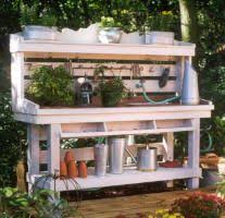 potting table with sink 25 cool diy garden potting table ideas potting tables gardens and