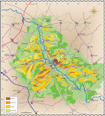 Oregon Wineries Map by Map Of Chablis