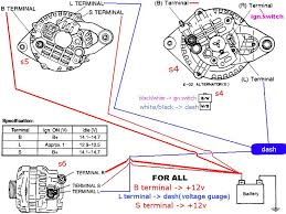 4 wire alternator wiring diagram picture sweet need and stock