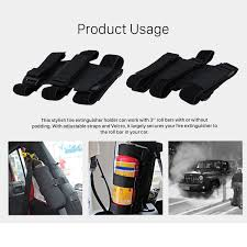 jeep interior accessories interior roll bar fire extinguisher holder safety protection kit