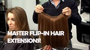 Best Human Hair Extensions Brand by How To Use Flip In Hair Extensions Youtube