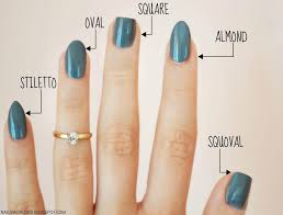 nail styles and shapes beautify themselves with sweet nails