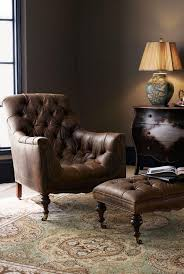 leather reading chair uncategorized reading chair with ottoman with beautiful tufted