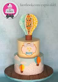 hot air balloon cake topper hot air balloon baby shower cake cake by danielle lechuga