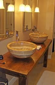 slab sink extra large onyx vessel sinks on solid teak slab vanity vessel