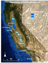 the other big one california u0027s pending megaflood curbed sf