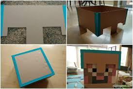 Halloween Minecraft Costumes Diy Minecraft Costume Instructions Diy Inspired