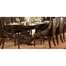 1 375 00 orleans rich dark cherry trestle dining table with leaf