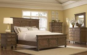 Driftwood Bedroom Furniture Gray Driftwood Traditional Bedroom W Panel Bed Optional Items