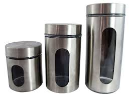 stainless kitchen canisters kitchen stainless steel canisters team galatea homes stylish