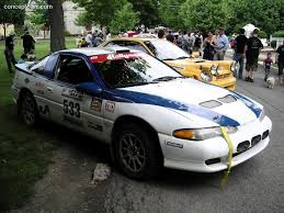 mitsubishi tiburon 1992 mitsubishi eclipse at the susquehannock trail performance rally