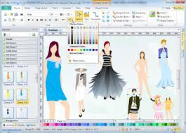 design software fashion design software edraw max makes fashion design easier