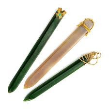 fd gallery a set of multi gem and gold letter openers by jean