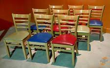 Restaurant Dining Chairs Used Restaurant Chairs Ebay