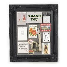 Pin Board Ornate Black Framed Pinboard Noticeboard