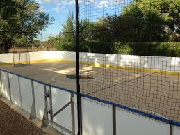 Backyard Hockey Rink Kit by Backyard Hockey Rink Accessories Outdoor Furniture Design And Ideas
