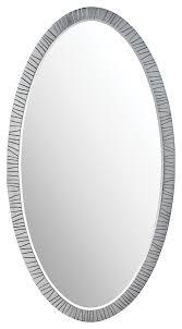 Bevelled Mirror Antelope Oval Mirror Mirrors Decorus Furniture