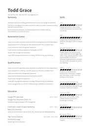 marketing manager resume marketing manager resume sles visualcv resume sles database