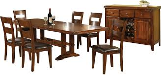 8 Dining Table Magnus 8 Piece Dining Package The Brick