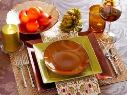 festive thanksgiving place settings snappy pixels