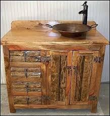 Log Vanity Vanities Rustic Bath Vanity Cabinets Rustic Bathroom Vanity