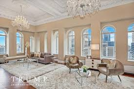 penthouse donald trump donald trump lists penthouse apartment at trump park avenue