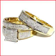cheap wedding rings sets luxury cheap wedding ring sets his and hers image of wedding ring