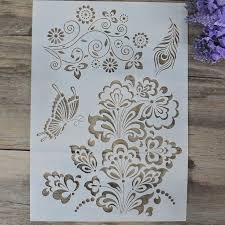 152 best stencil for painting scrapbooking images on pinterest