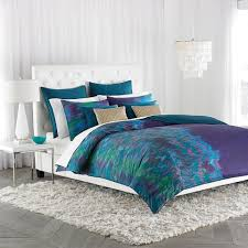 decorating the bedroom with green blue and purple decorating with purple green and blue
