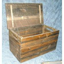 large wooden box primitive wood box storage chest trunk wooden box aftcra